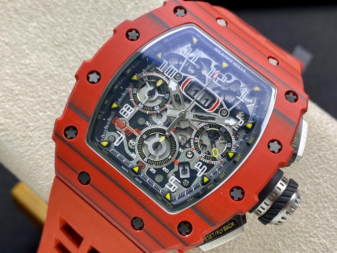 理查德米爾RM11-03系列 RM011紅魔計時款,N廠手錶