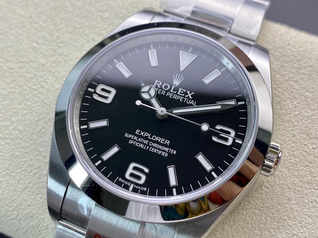 仿表勞力士探一蠔式恒動39mm系列GM廠手錶,N廠手錶