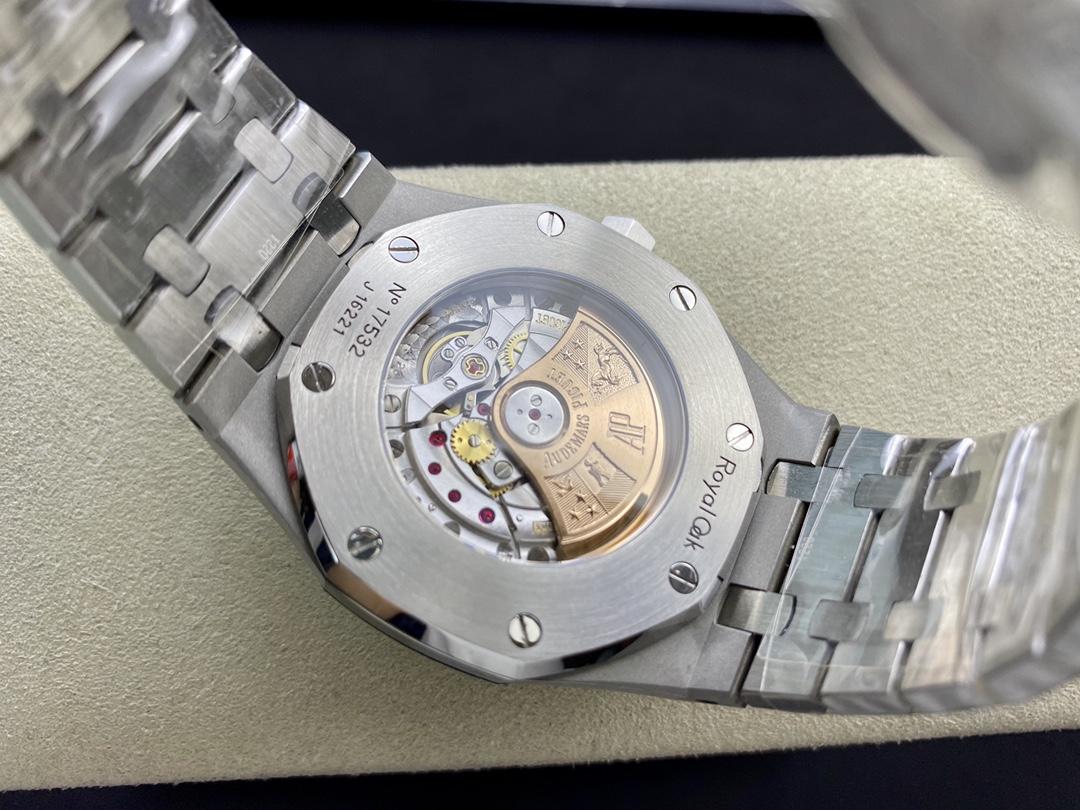 """改裝專案:圈口改莫桑鑽圈 JF標杆神器愛彼AP 15400超強""""V5""""升級版,N廠手錶"""