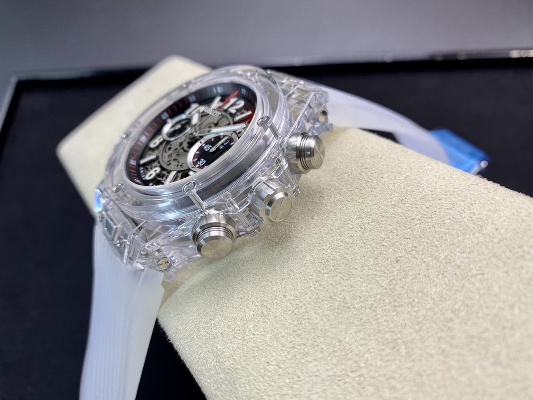 "HB廠手錶恒寶BIG BANG系列411.JX.4802.RT""全透明腕表""V2版本,N廠手錶"