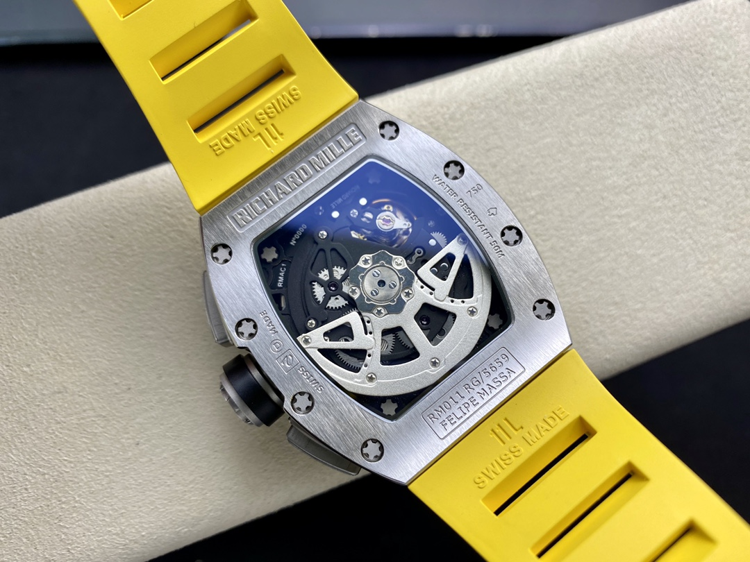 KV廠手錶仿表理查德鈦鋼計時RM011超強巨作 RICHARD MILLE RM011 FELIPE MASSA 系列,N廠手錶