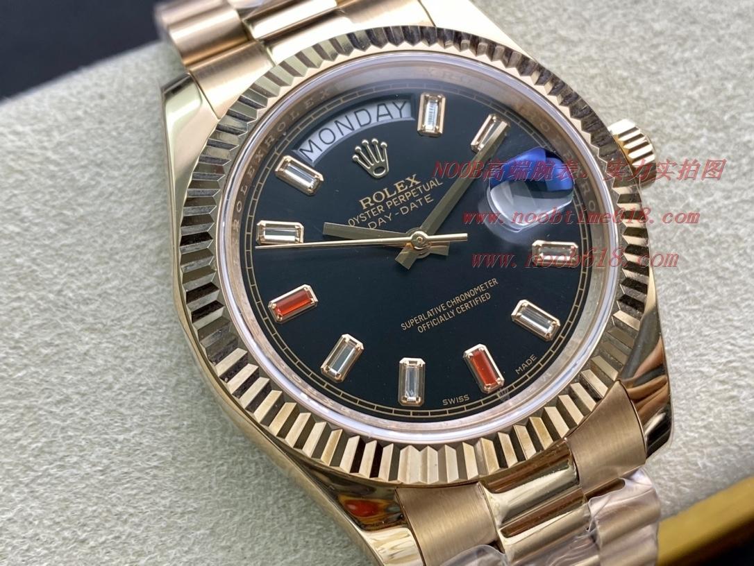 手錶評測仿表勞力士DD星期日志系列40mm 2836機芯,N廠手錶