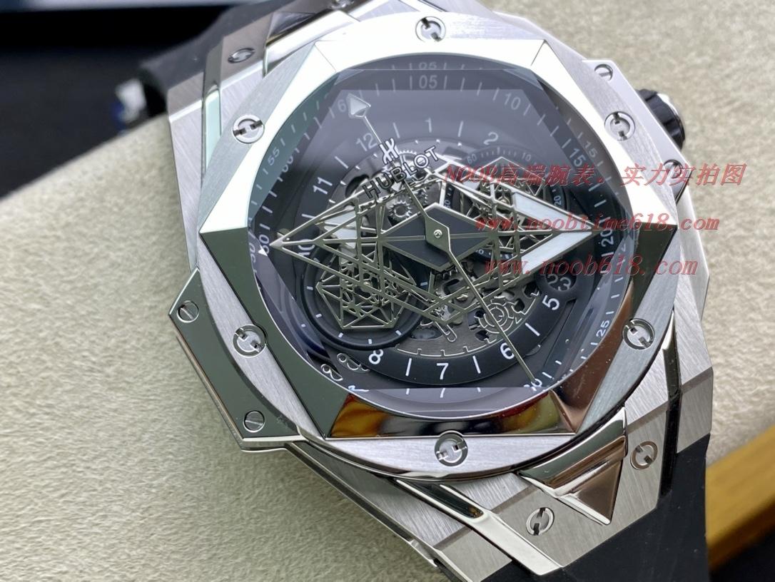 親民版石英密底仿表恒寶刺青大師設計 Hublot 劍鋒 石英計時款,N廠手錶