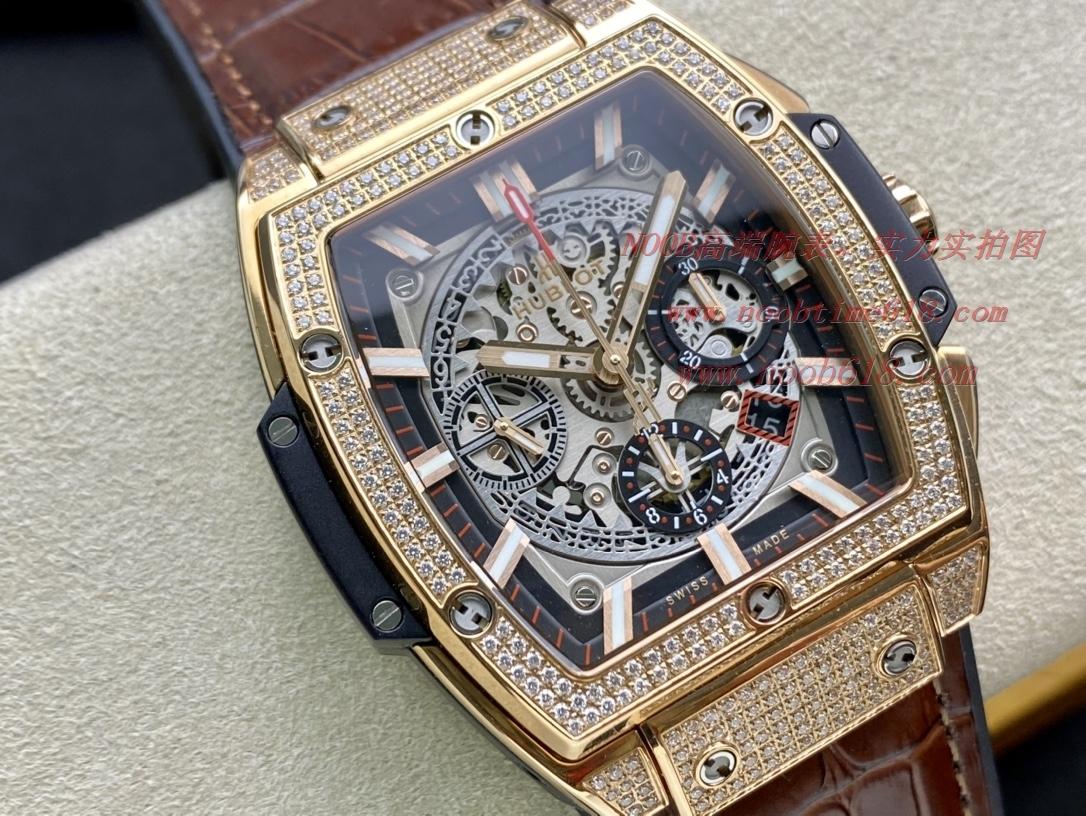精仿表宇舶HUBLOT恒寶大爆炸計時款SPIRIT OF BIG BANG系列腕表,N廠手錶
