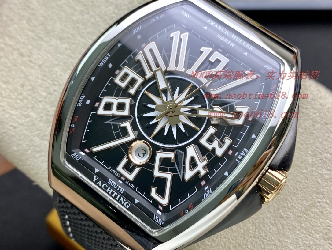 ABF廠手錶最高品質 Franck Muller 法蘭克穆勒 FM Vanguard Yachting V45遊艇系列,N廠手錶
