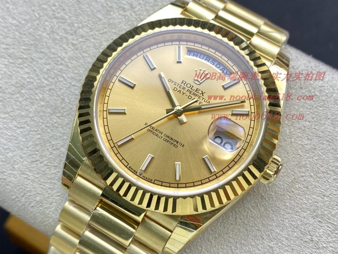 EW Factory力作V2升級版 勞力士Rolex星期日志型40mm終極版,N廠手錶