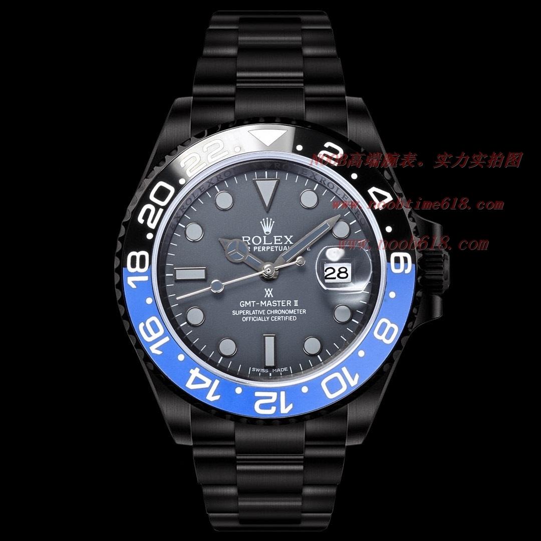 改裝手錶BLAKEN勞力士 Rolex 碳黑鋼皇水鬼系列,N廠手錶