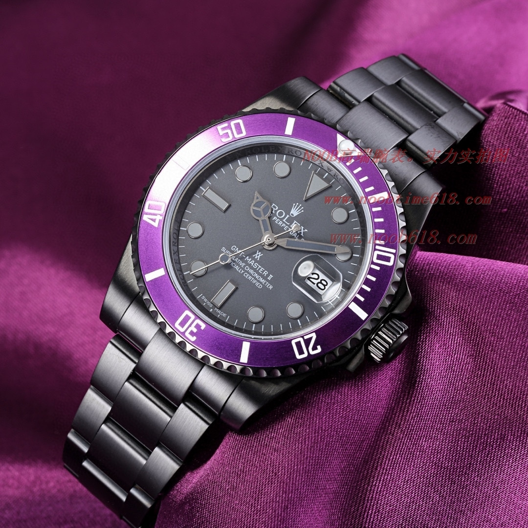 勞力士改裝錶 BLAKEN勞力士 Rolex 碳黑鋼皇水鬼系列,N廠手錶