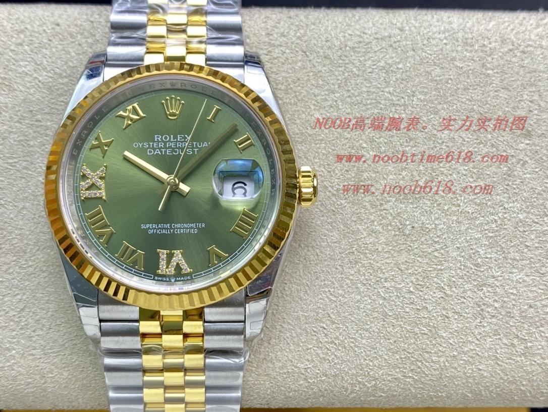 手錶代理EW Factory勞力士Rolex原版開模3235自動機械機芯日誌型系列126233日誌型腕表,N廠手錶