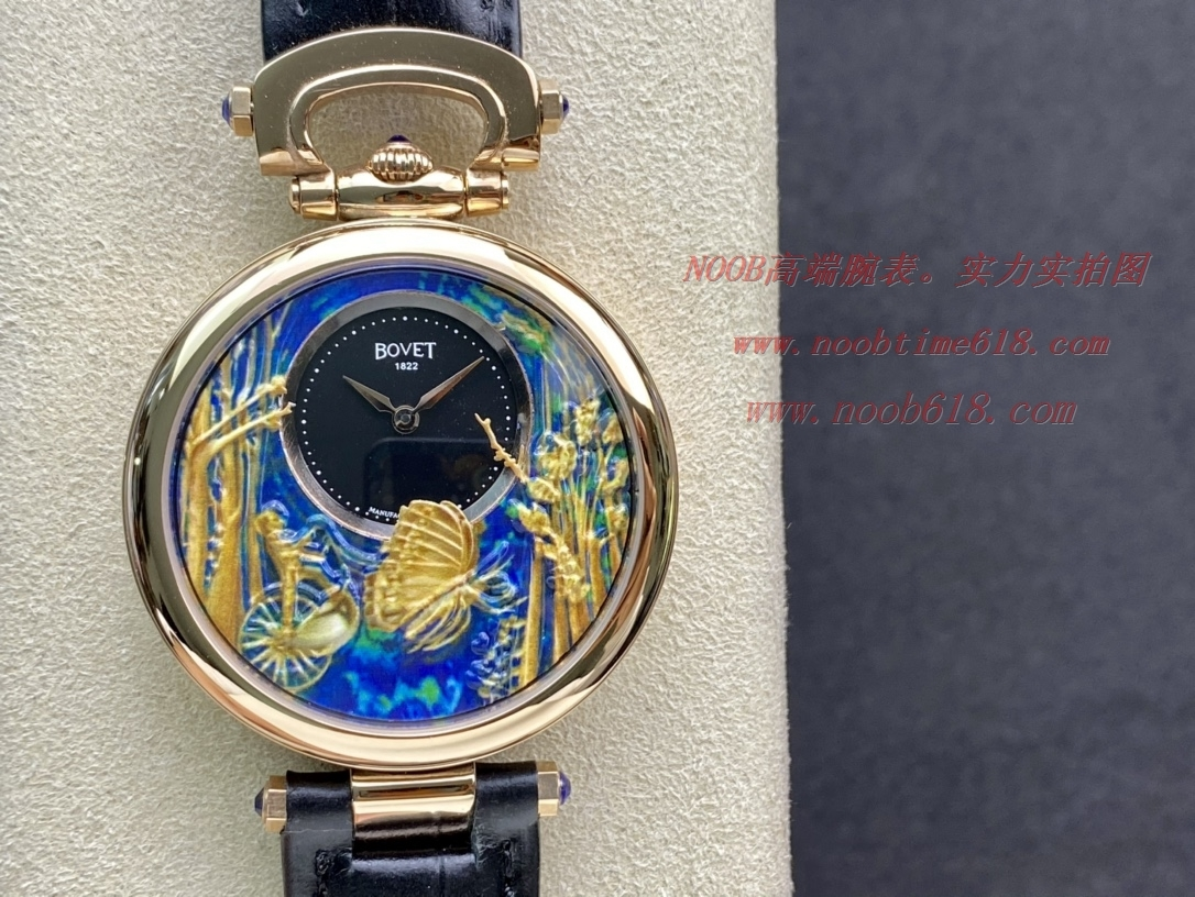 手錶貨源播威BOVET浮雕圖案1:1複刻,N廠手錶