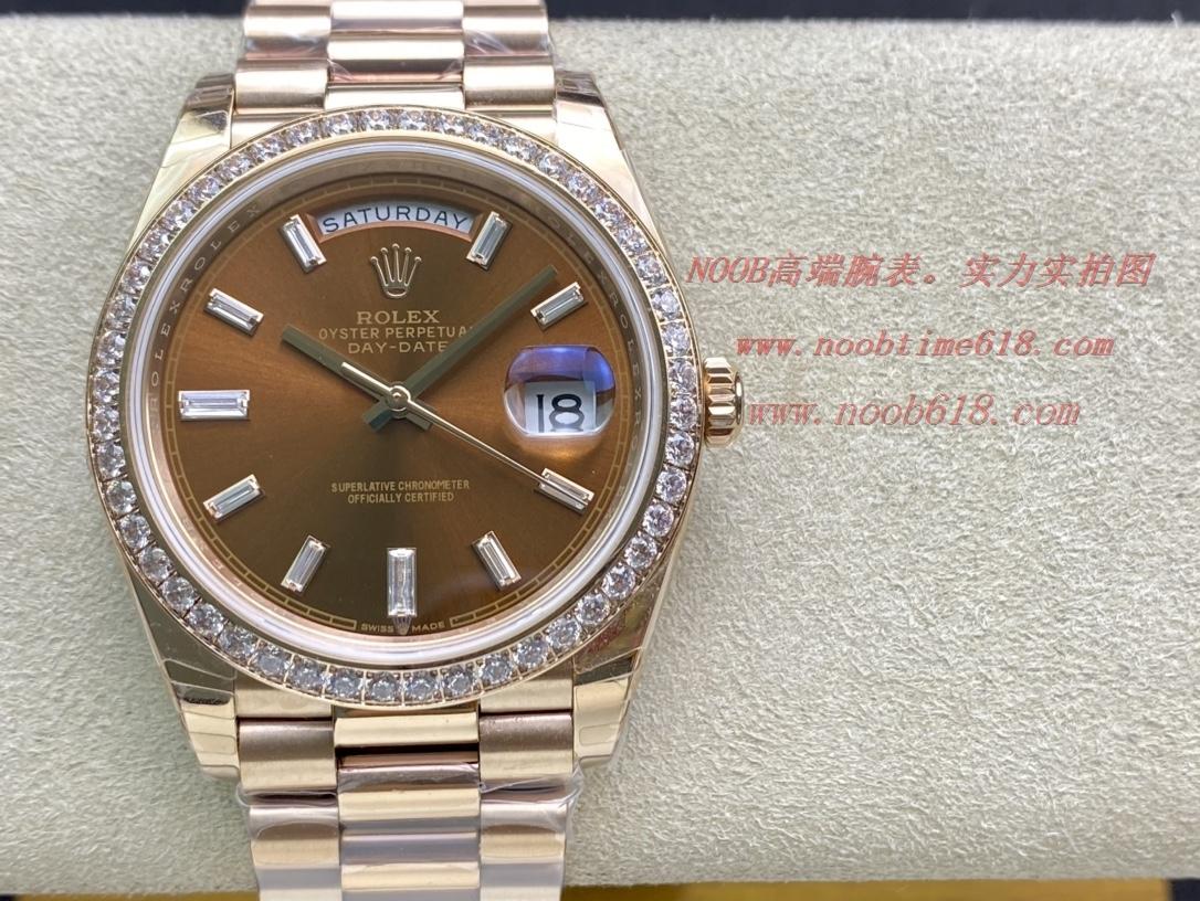 EW Factory力作V2升级版 劳力士Rolex星期日志型40mm终极版 搭载原版3255自动机械机芯228239系列腕表