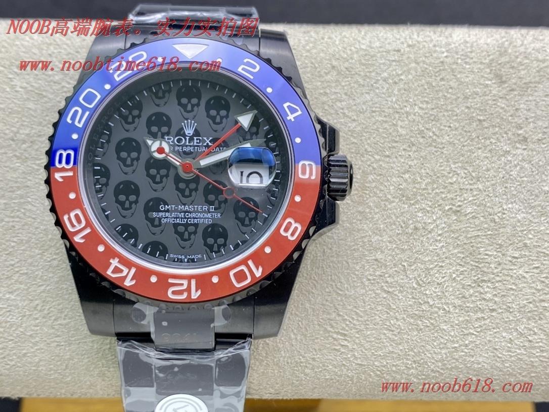 TBLACK出品仿表勞力士rolex gmt-master TBLACK官方定制版格林尼治型REVENGE米爾高斯復仇系列,N廠手錶