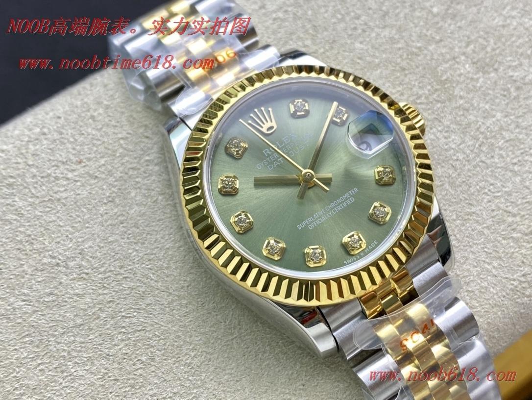 WF廠手錶仿錶勞力士Rolex女表蠔式日誌型31mm腕表,N廠手錶