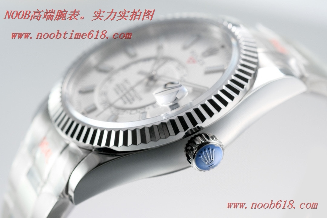 外圈月份能轉動TW廠仿錶勞力士Rolex Sky-Dweller 縱航者型,N廠手錶