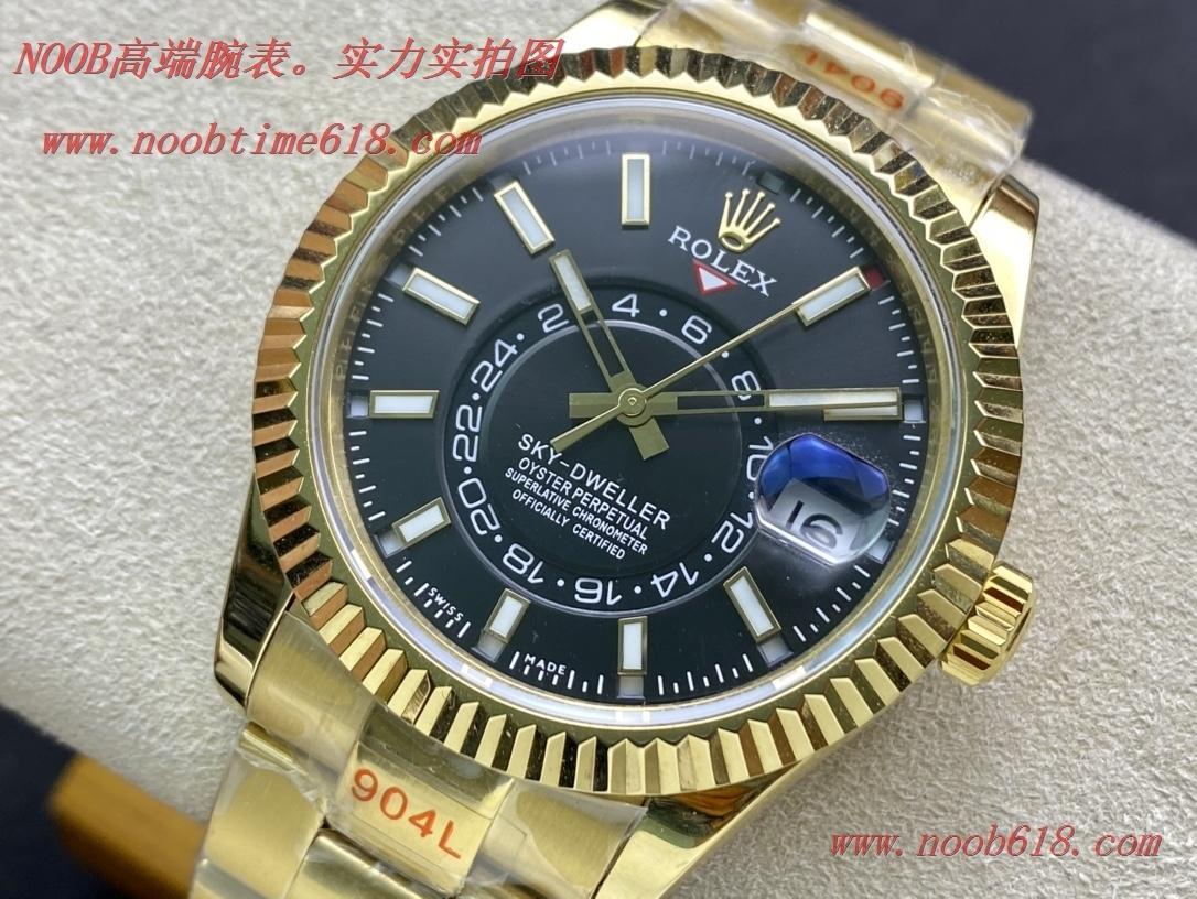 仿錶勞力士Rolex Sky-Dweller 縱航者型外圈月份能轉動,TW廠手表