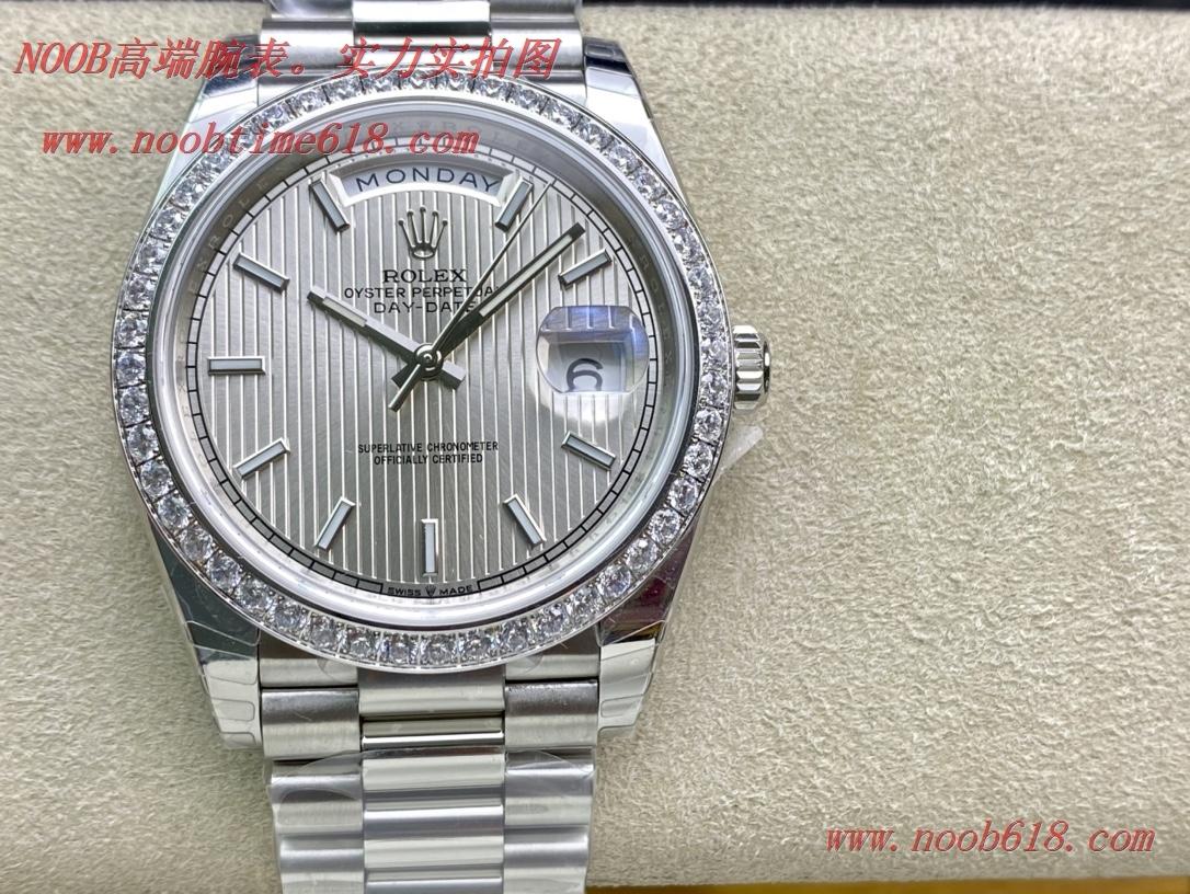 仿表EW Factory V2升級版勞力士Rolex星期日志型40mm終極版搭載原版3255自動機械機芯228239系列腕表,N廠手錶