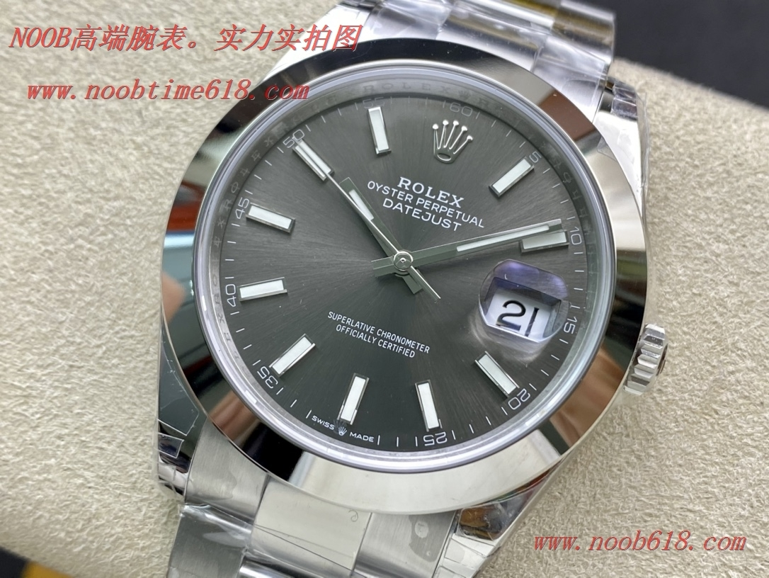 仿錶VS FACTORY勞力士光圈日誌41MM 搭載VS全新3235機芯,N廠手錶