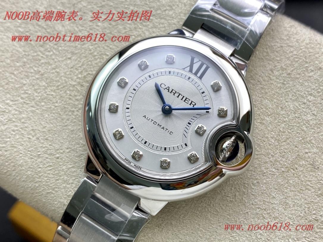 仿錶V6 -Factory一表一碼一卡完美複刻V7版卡地亞藍氣球33MM,N廠手錶