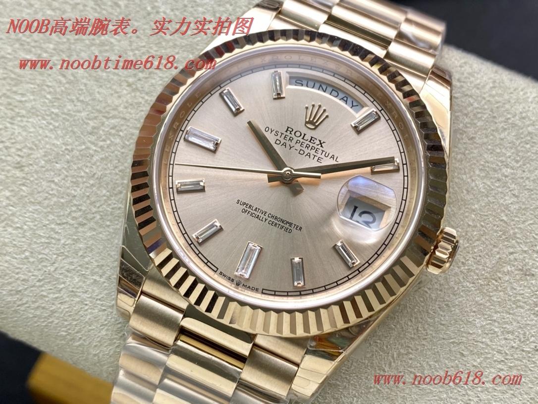 仿錶,精仿錶,複刻錶EW Factory力作V2升級版勞力士Rolex星期日志型40mm終極版,N廠手錶