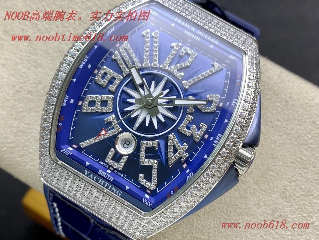 仿錶,精仿錶,複刻錶ABF廠手錶Franck Muller 法蘭克穆勒 FM Vanguard Yachting V45遊艇系列,N廠手錶