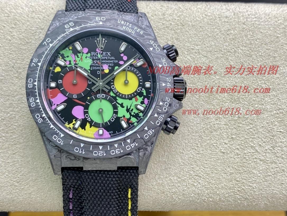 REPLICA WATCH NOOB FACTORY ROLEX DIW CARBON FIBER DAYTONA M116500ln-0001 WATCH n廠手錶