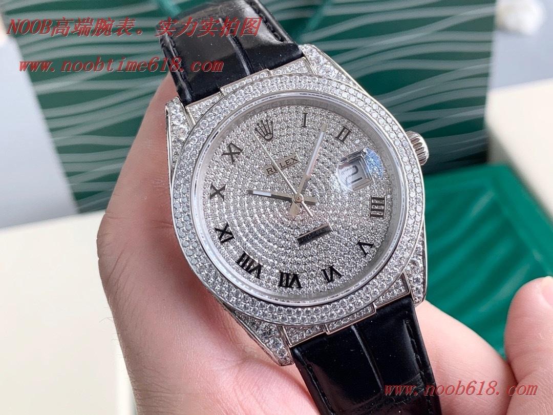 滿鑽手錶,精仿錶,複刻錶玩家毒物最新力作ROLEX勞力士滿鑽日誌系列,N廠手錶