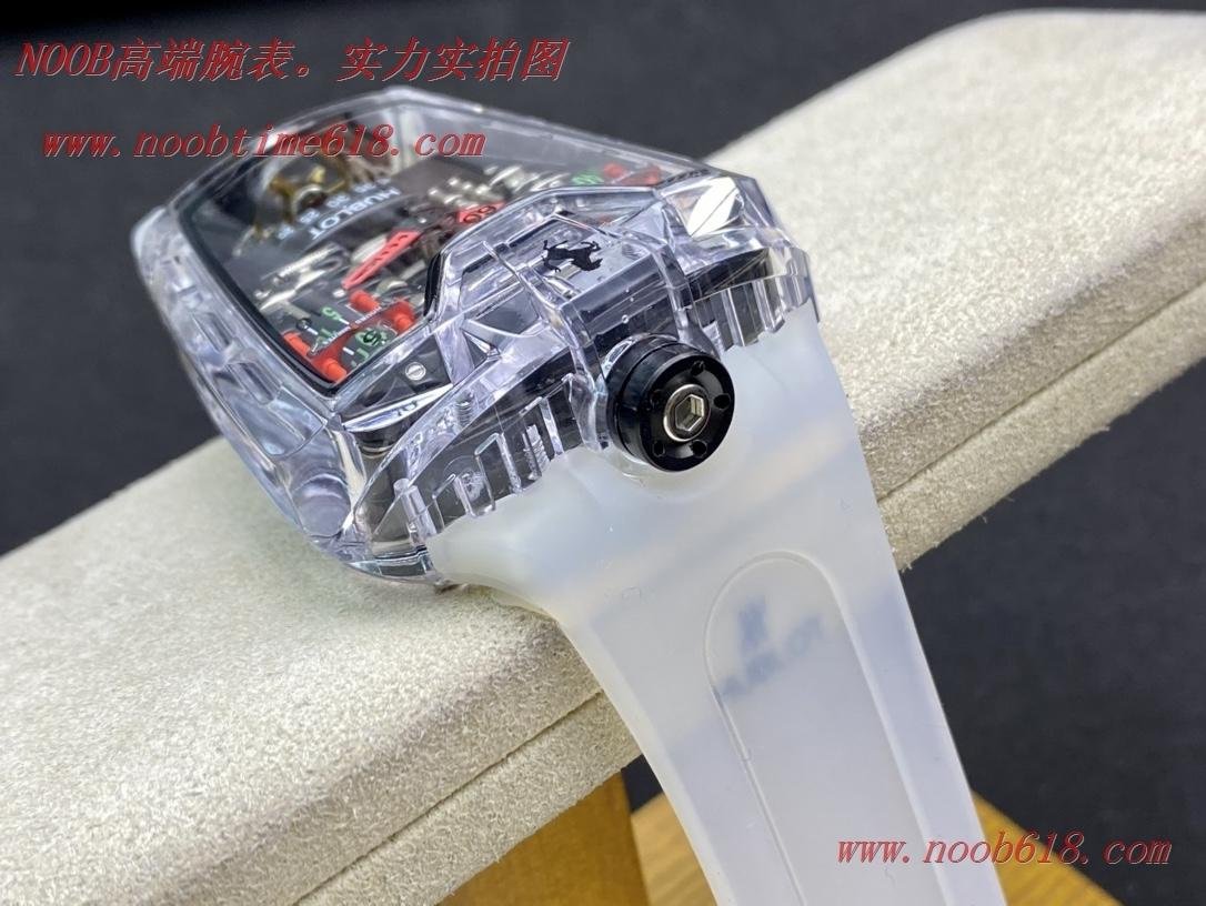 法拉利手錶,香港仿錶,仿錶,精仿錶HUBLOT-恒寶/法拉利系列六缸發動機,N廠手錶