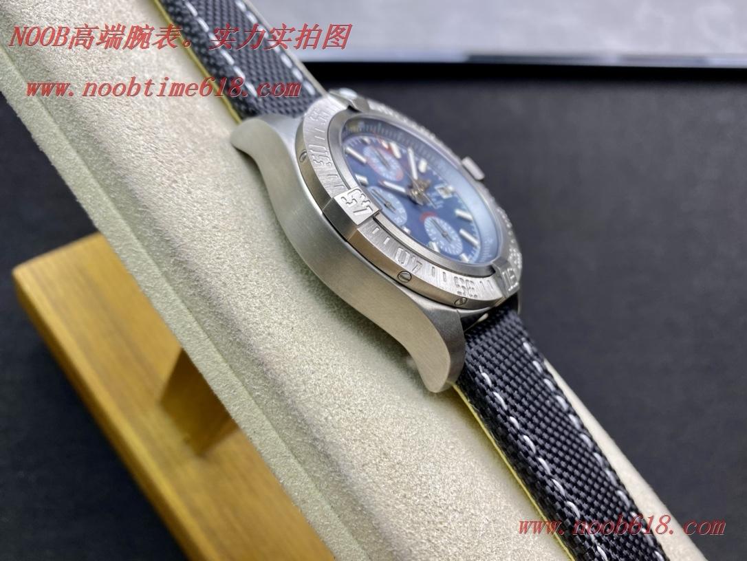 仿錶,精仿錶,複刻手錶OXF 2020新款百年靈Breitling Avenger chronograph 45 night Missio 復仇者計時腕表45夜間任務版,N廠手錶