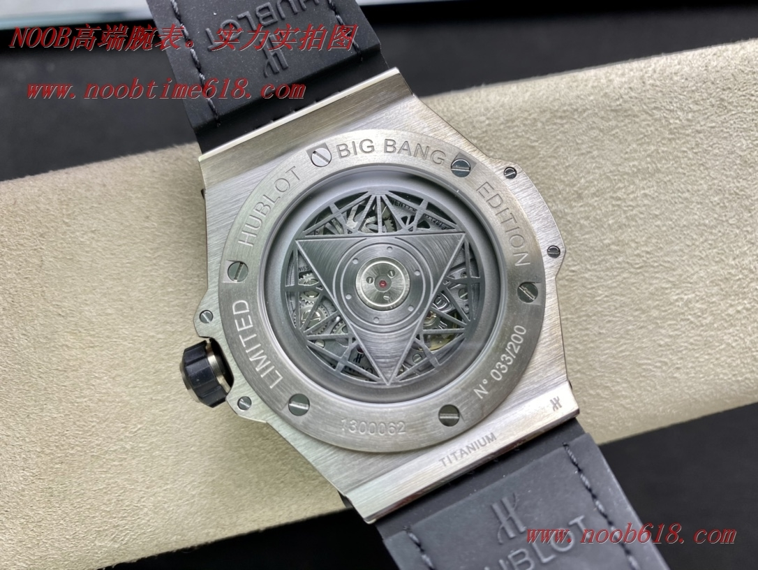 仿錶,精仿錶,複刻手錶WWF廠手錶恒寶/宇舶Big Bang系列—刺青滿鑽腕表,N廠手錶