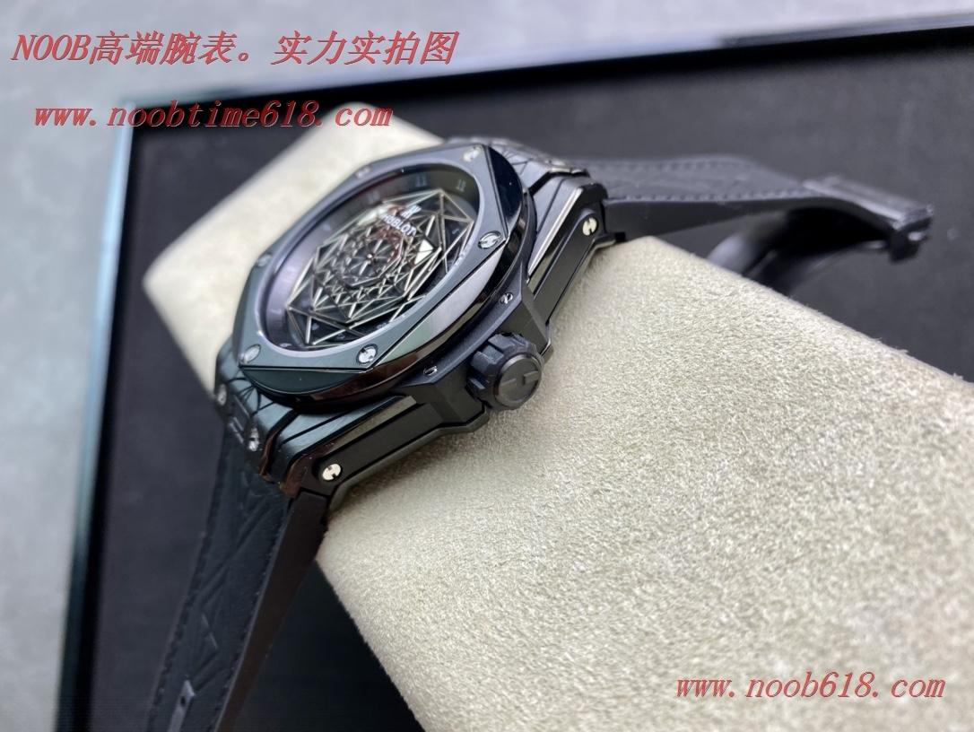 精仿錶,複刻手錶WWF廠手錶恒寶/宇舶Big Bang系列—刺青滿鑽腕表,N廠手錶
