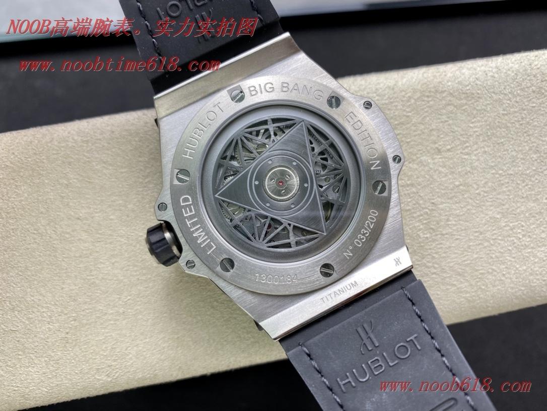 複刻手錶WWF廠手錶恒寶/宇舶Big Bang系列—刺青滿鑽腕表,N廠手錶
