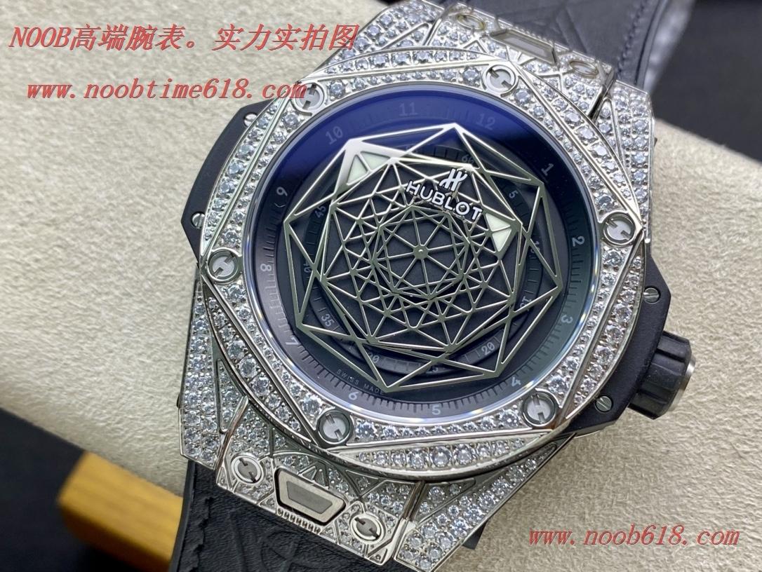 仿錶,精仿錶,複刻手錶WWF廠手錶恒寶/宇舶Big Bang系列刺青滿鑽腕表,N廠手錶