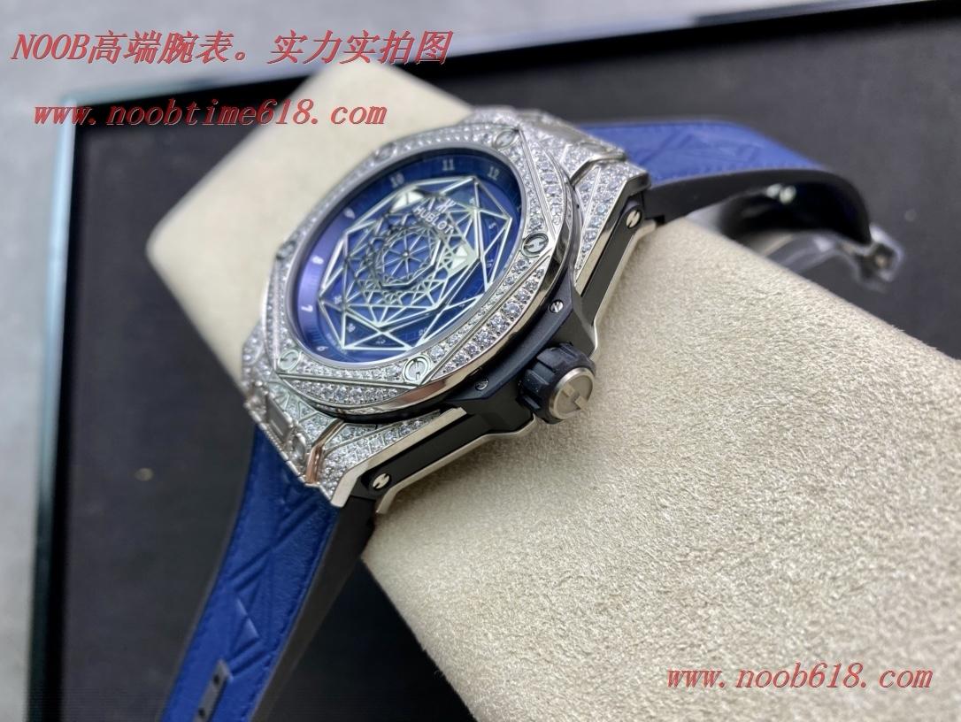 WWF廠手錶恒寶/宇舶Big Bang系列—刺青滿鑽腕表,N廠手錶