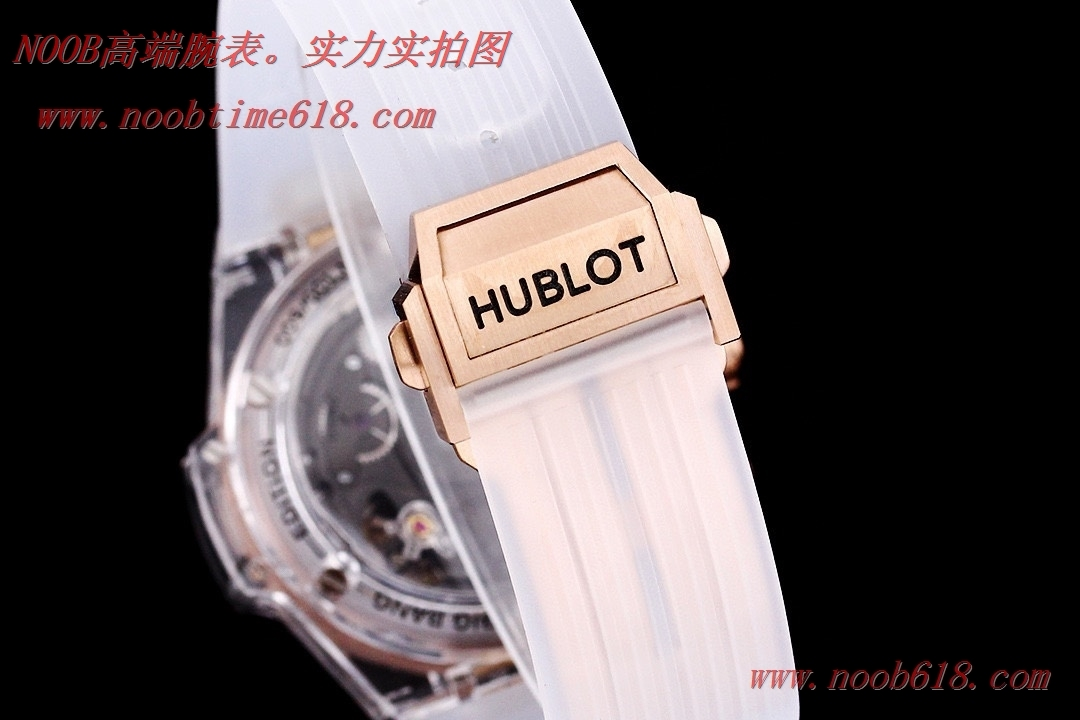 臺灣仿錶,精仿錶,透明手錶恒寶HUBLOT宇舶BIG BANG系列411.JX.4802.RT全透明腕表,N廠手錶