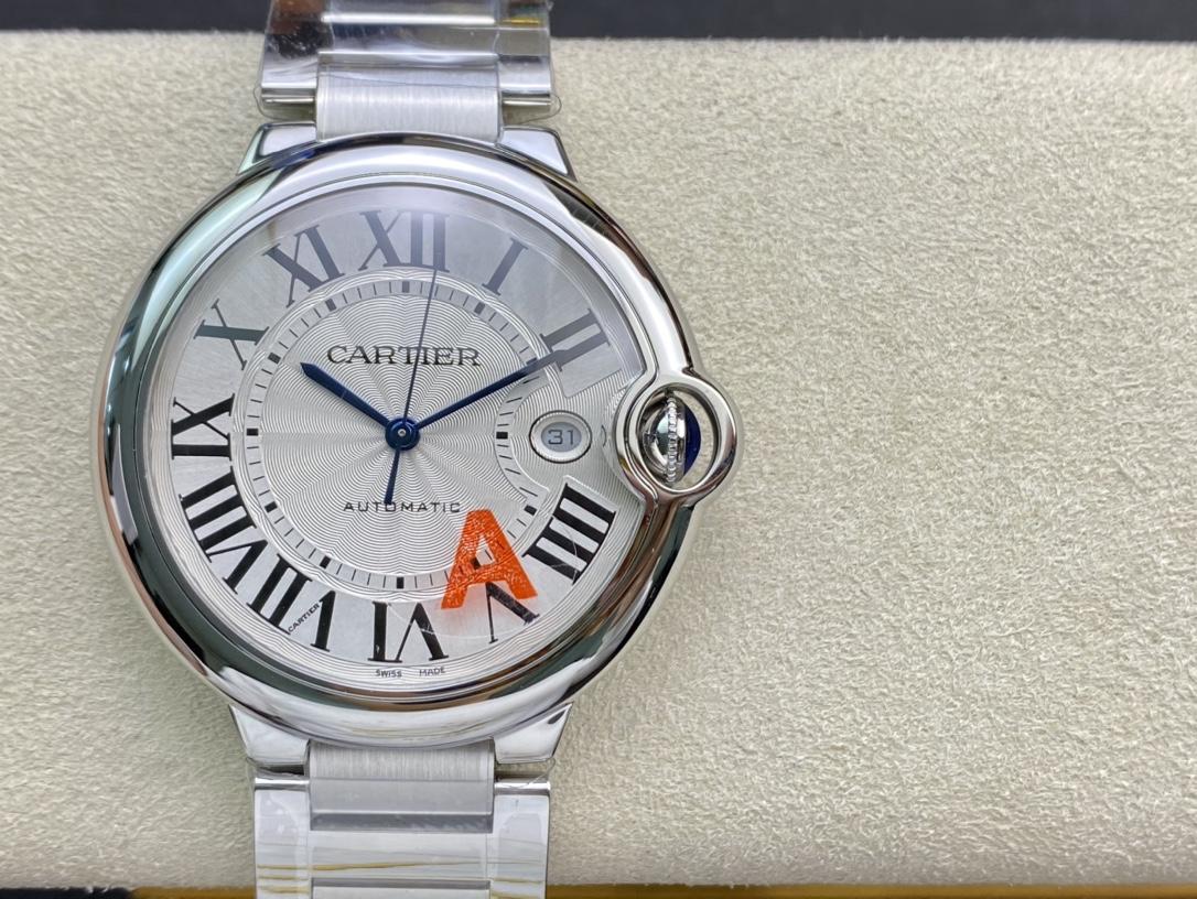 REPLICA WATCH V6 factory cartier 卡地亞42mm藍氣球V8版,複刻手錶