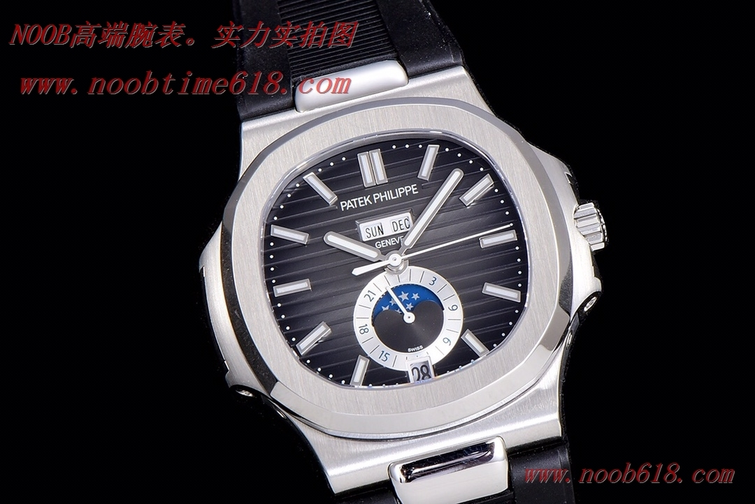 香港仿錶,精仿錶,GR FACTORY新一代V3百達翡麗Nautilus年曆腕表5726系列頂級版本,N廠手錶