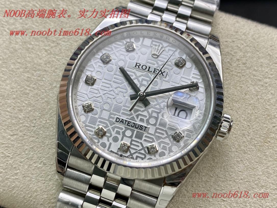 仿錶,精仿錶EW Factory 勞力士Rolex原版開模3235自動機械機芯日誌型系列126233日誌型腕表,N廠手錶