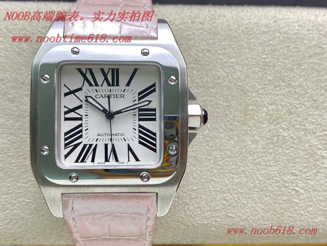 仿錶,精仿錶KZ廠手錶超A級卡地亞山度士桑托由斯女表Santos 100周年紀念版,N廠手錶