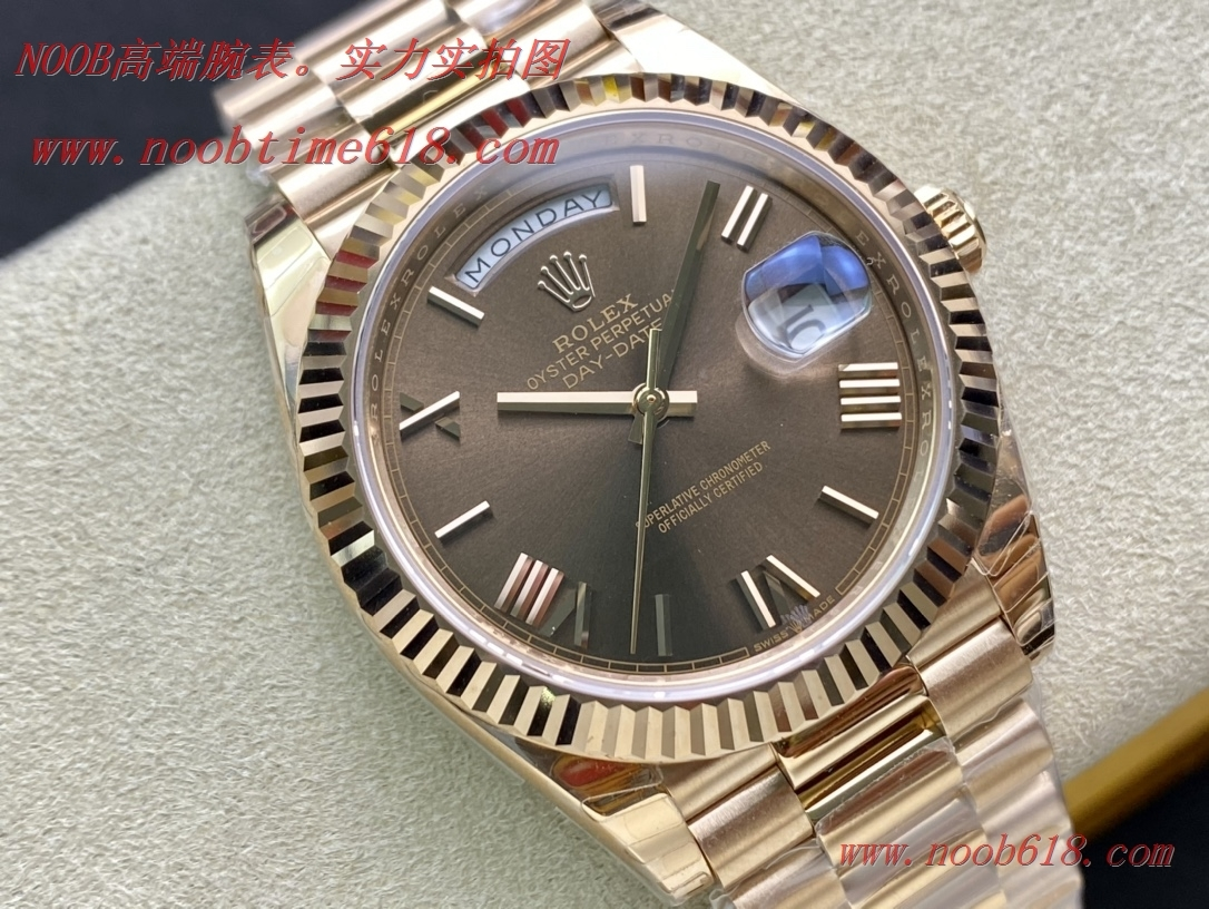 仿錶EW Factory力作V2升級版勞力士Rolex星期日志型40mm終極版,N廠手錶