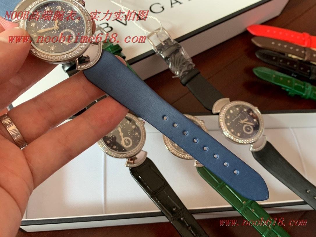 仿錶,精仿錶,複刻錶Bvlgari 寶格麗鑲嵌奢侈鑽瑞士石英機芯,N廠手錶