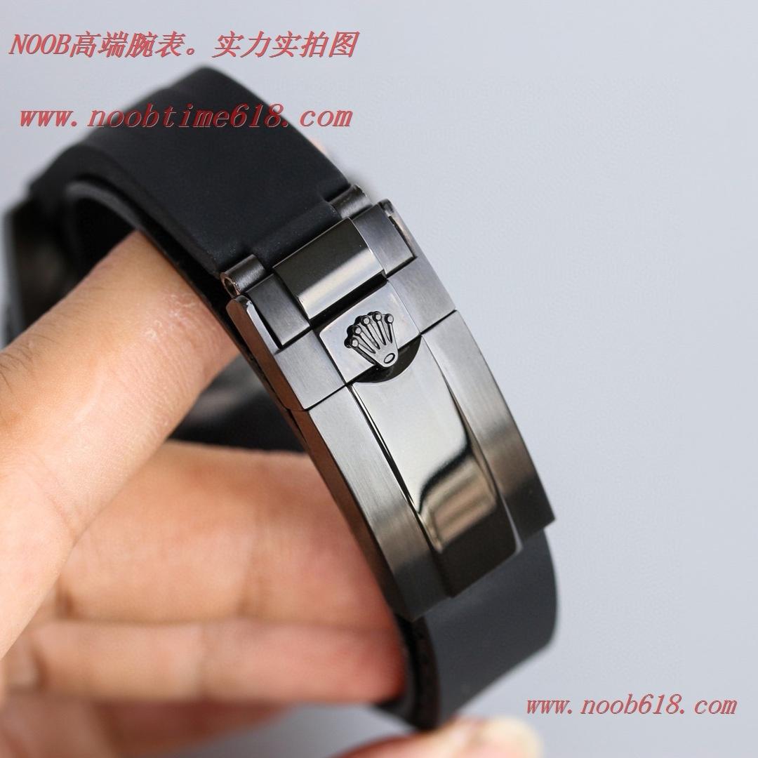BLAKEN勞力士Rolex碳黑鋼皇膠帶款水鬼系列,N廠手錶