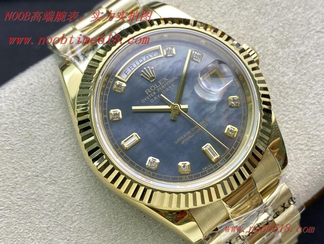 仿錶,精仿錶,複刻錶稀缺款 BP勞力士貝母盤全金星期日誌系列2836機芯40mm