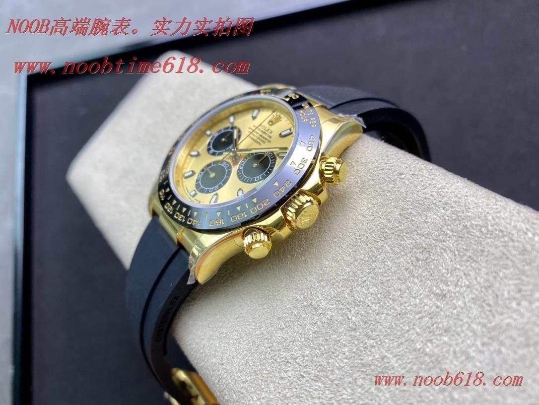 仿錶,精仿錶,複刻錶N廠手錶勞力士餘文樂同款迪通拿超級4130機芯,NOOB factory WACTCH AGENT