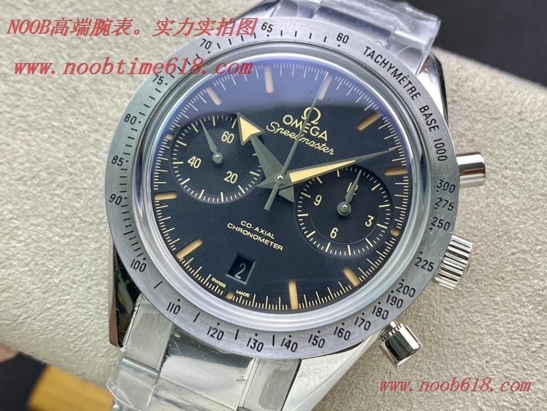 仿錶,精仿錶,複刻錶OM廠手錶歐米茄omega傳奇超霸系列57同軸9300計時腕表,N廠手錶
