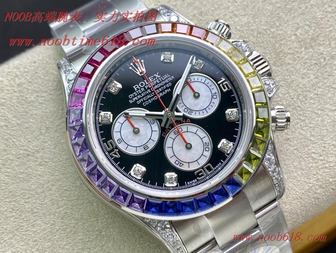 仿錶,精仿錶,複刻錶WACTCH AGENT BL factory勞力士迪通拿彩虹迪款型號:116599RBOW-116598RBOW-116595RBOW.彩虹迪通拿,N廠手錶
