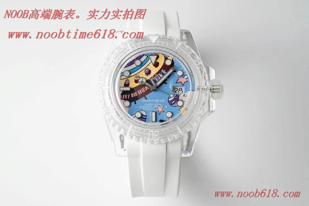改裝表,仿錶,精仿錶FINE IMITATION KZ factory改裝表勞力士透明水鬼,N廠手錶