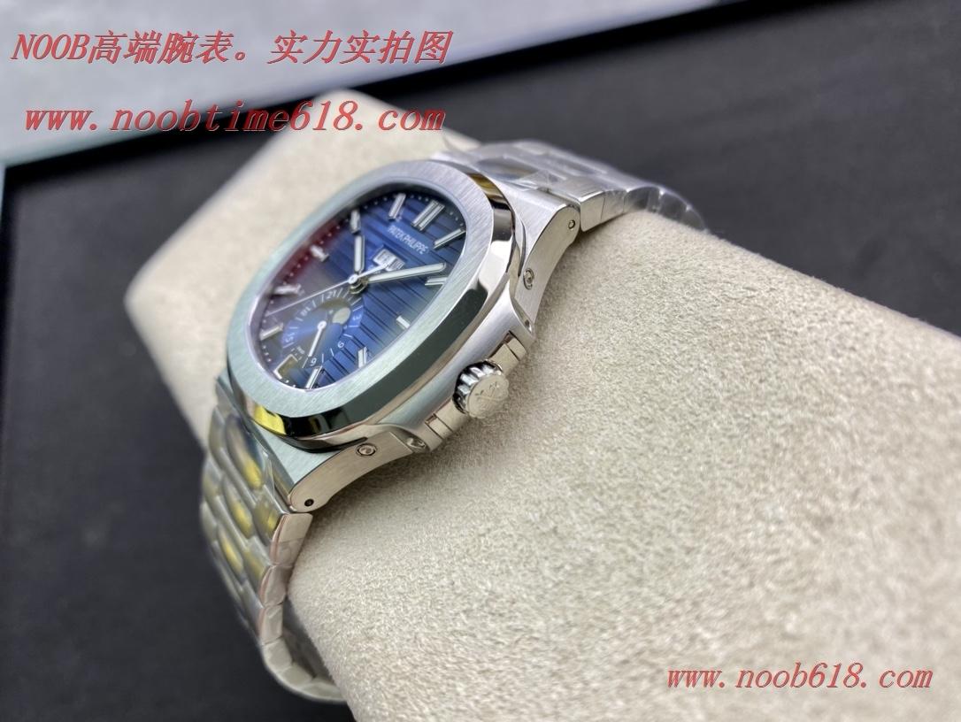 仿錶,精仿錶REPLICA WATCH Green factory綠廠手錶百達翡麗運動優雅Nautilus系列(鸚鵡螺)年曆腕表5726款,N廠手錶