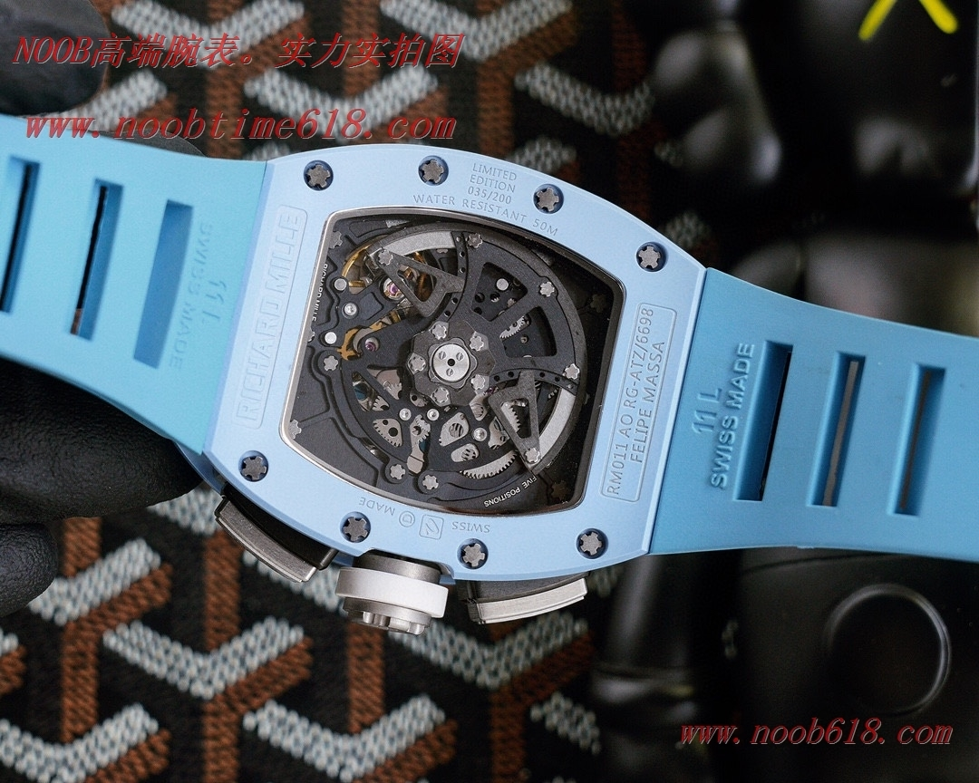 精仿手錶,仿錶理查德米勒RM11-03碳纖維系列,N廠手錶
