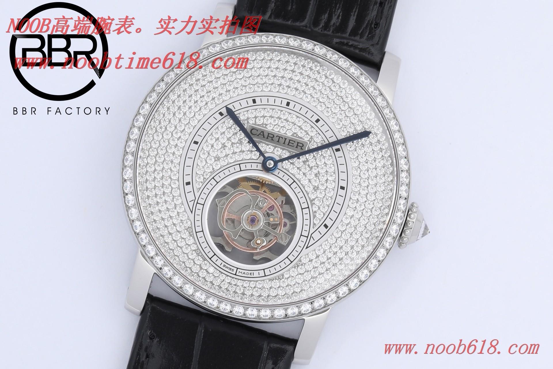 陀飛輪仿錶,精仿手錶,REPLICA WATCH BBR factory卡地亞陀飛輪ROTONDE DE CARTER 系列型號:HPI00593,N廠手錶