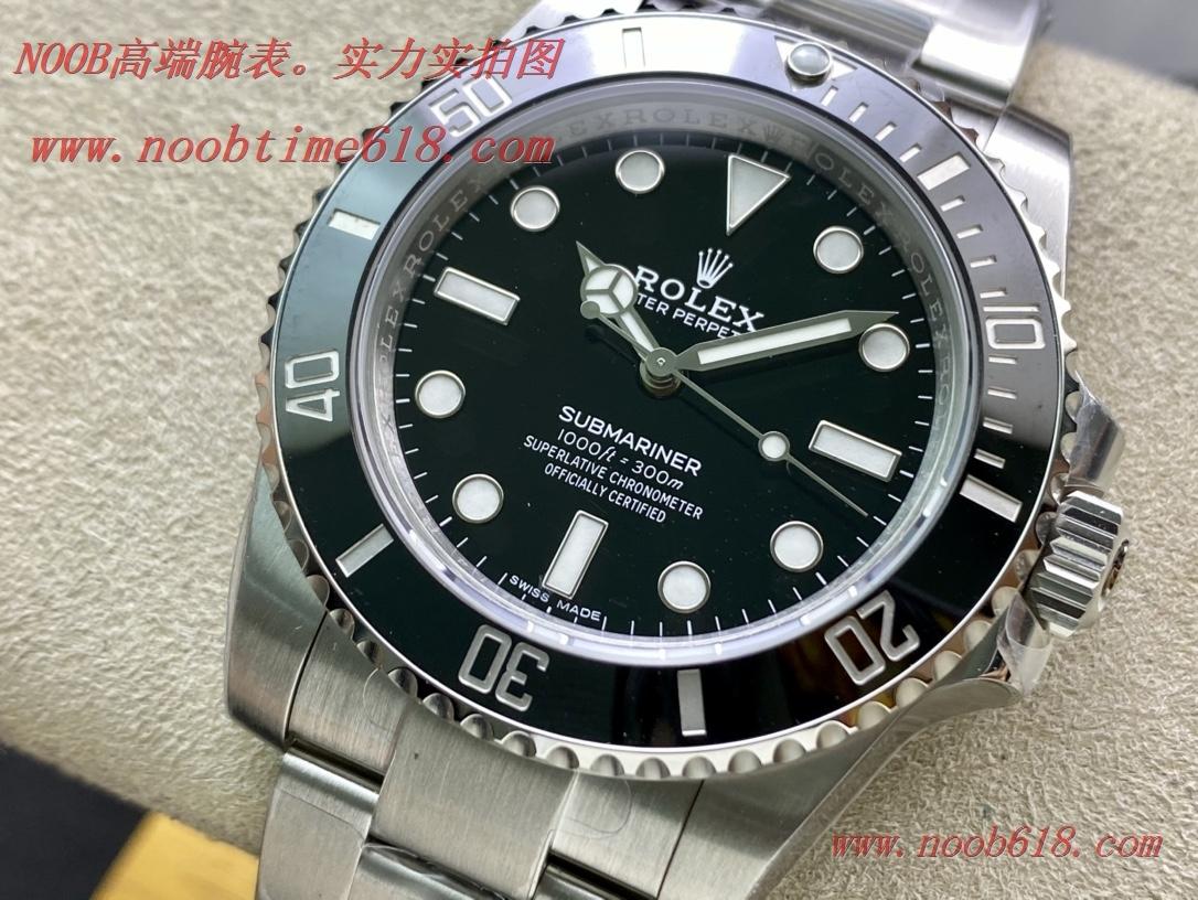 仿錶,精仿手錶,REPLICA WATCH VS factory 勞力士無曆黑水鬼114060型3130機芯40mm 904鋼,N廠手錶